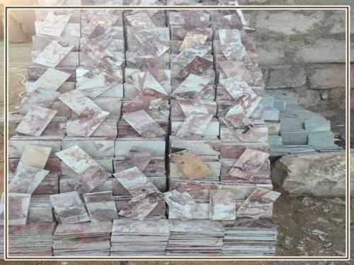 اشكال حجر مايكا مصرى 500x375 - حجر مايكا للديكور الداخلى والواجهات مميزات وسعر المايكا