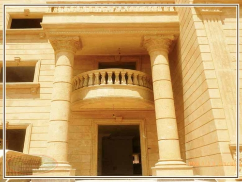 مميزات حجر الواجهات المودرن 500x375 - ديكور واجهات منازل حديثة بتصاميم تشطيب واجهات مودرن